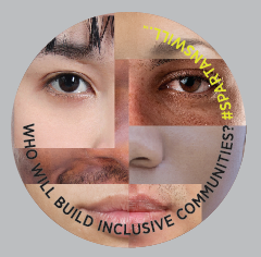 "3"" Removable Decal (Face Image) - Building Inclusive Communities"