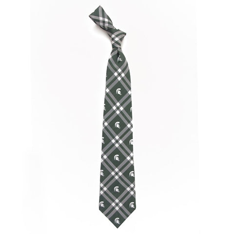Michigan State Eagles Wings Rhodes Tie