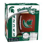 Masterpieces MSU Shake n' Score Travel Dice Game