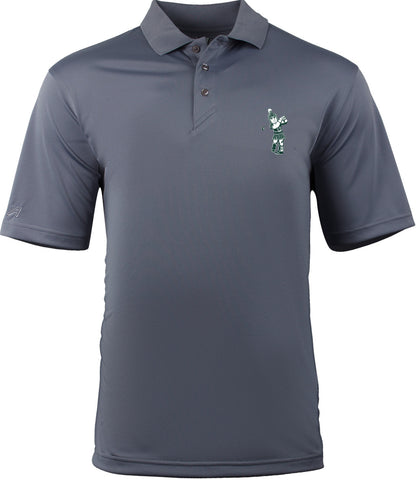 Ahead Sparty Golf Polo - Steel Grey