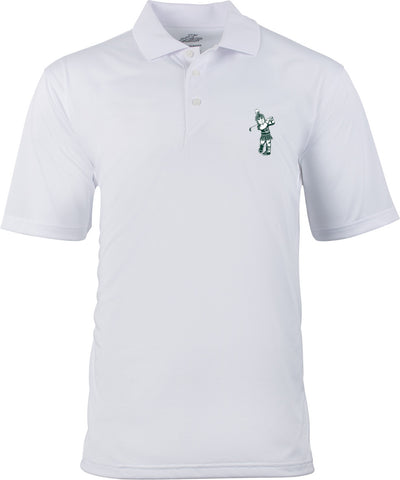 Ahead Sparty Golf Polo - White