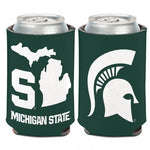 Wincraft Michigan State 12oz State Outline Can Cooler