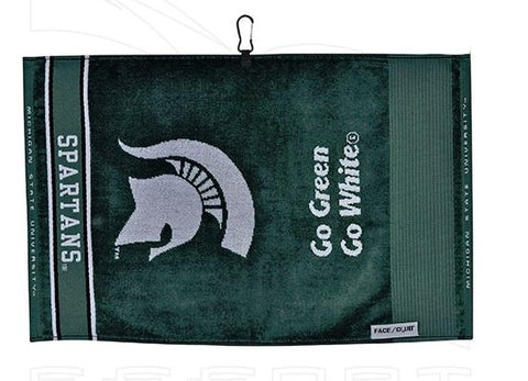 Team Effort Jacquard Golf Towel