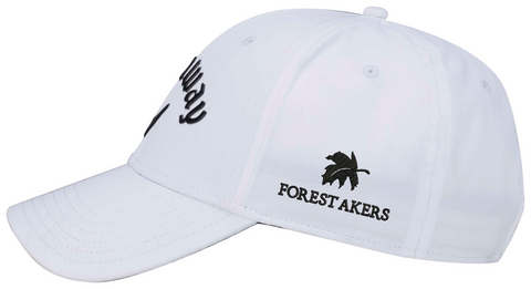 Callaway Forest Akers Liquid Metal Hat - White