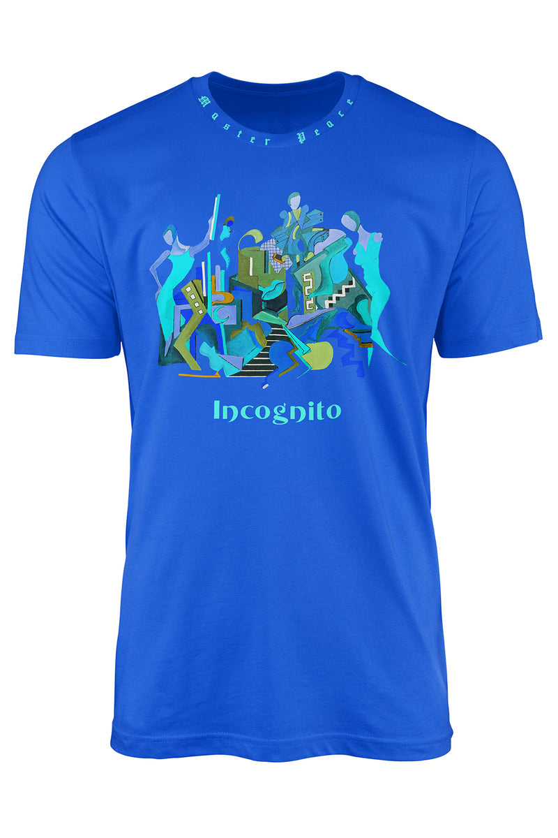 INCOGNITO TEE (ICY BLUE) - [collection]