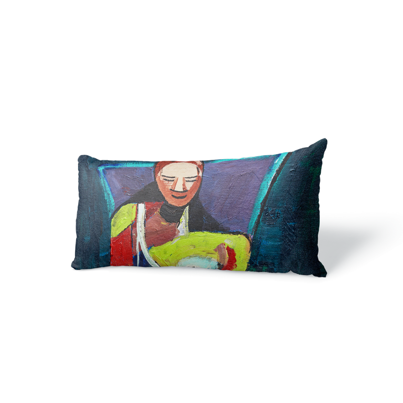 "BOSSY VELVET PILLOW 16"" x 10"" - [collection]"