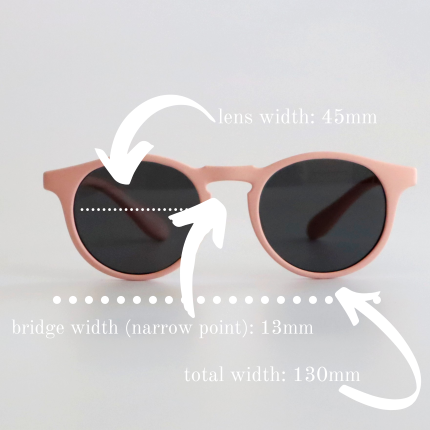 Leosun Kids Sunglasses The Flyers Size Guide Ages 3 -12. Front