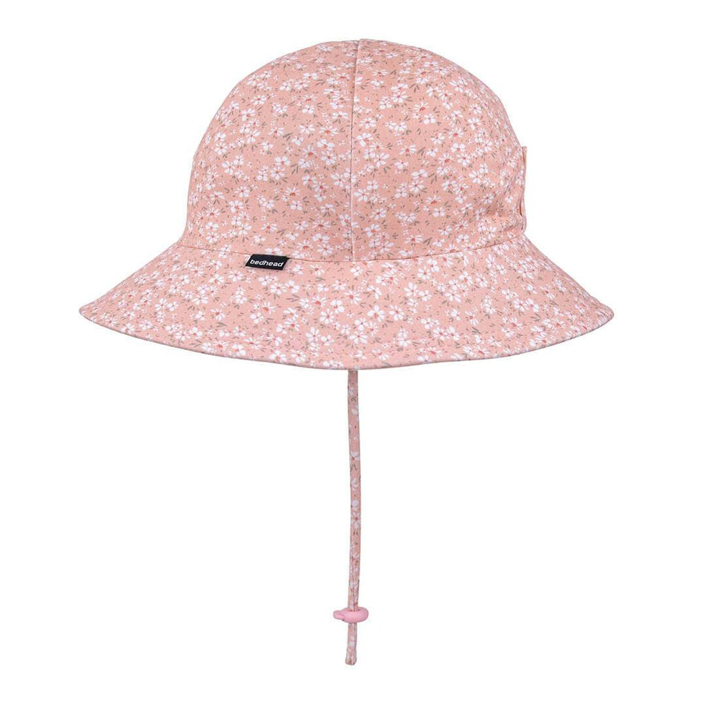 Floral Ponytail Stretch Sun Hat Hats Bedhead