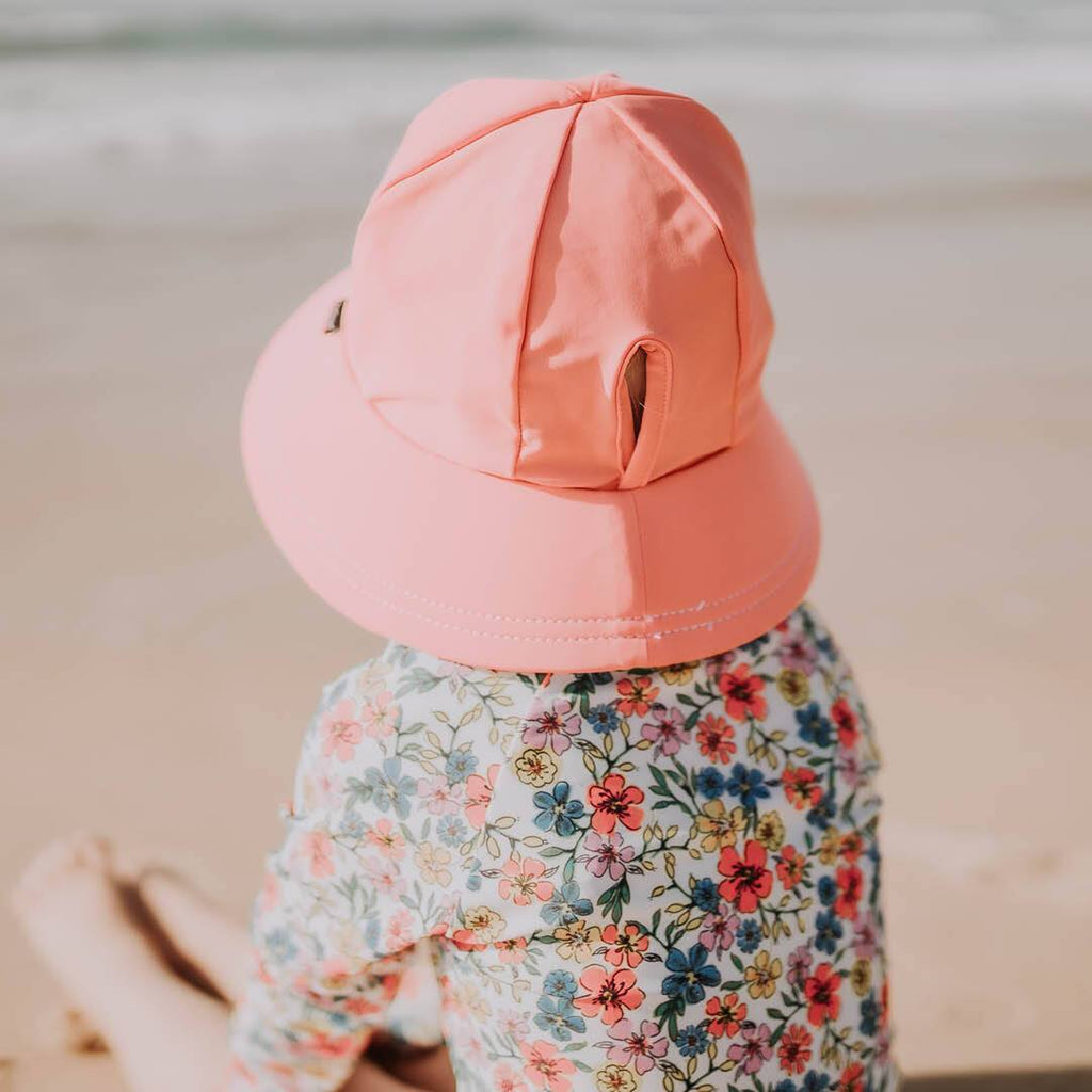 Kids Beach Bucket Hat - Peach Hats Bedhead