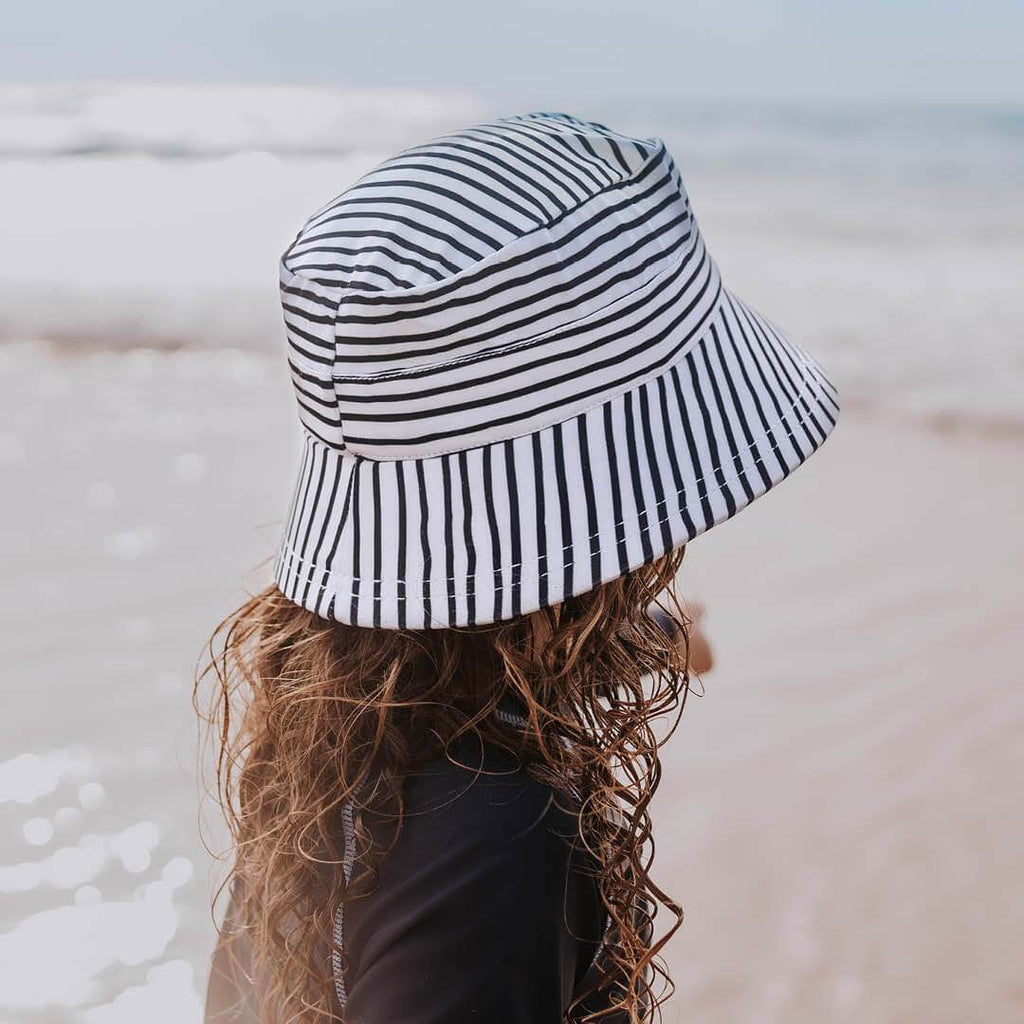 Kids Beach Bucket Hat - Stripe Hats Bedhead