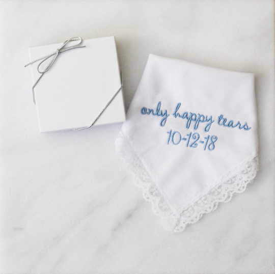 Only Happy Tears Handkerchief