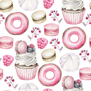 Iced Doughnut Cupcake (Pack of 3)