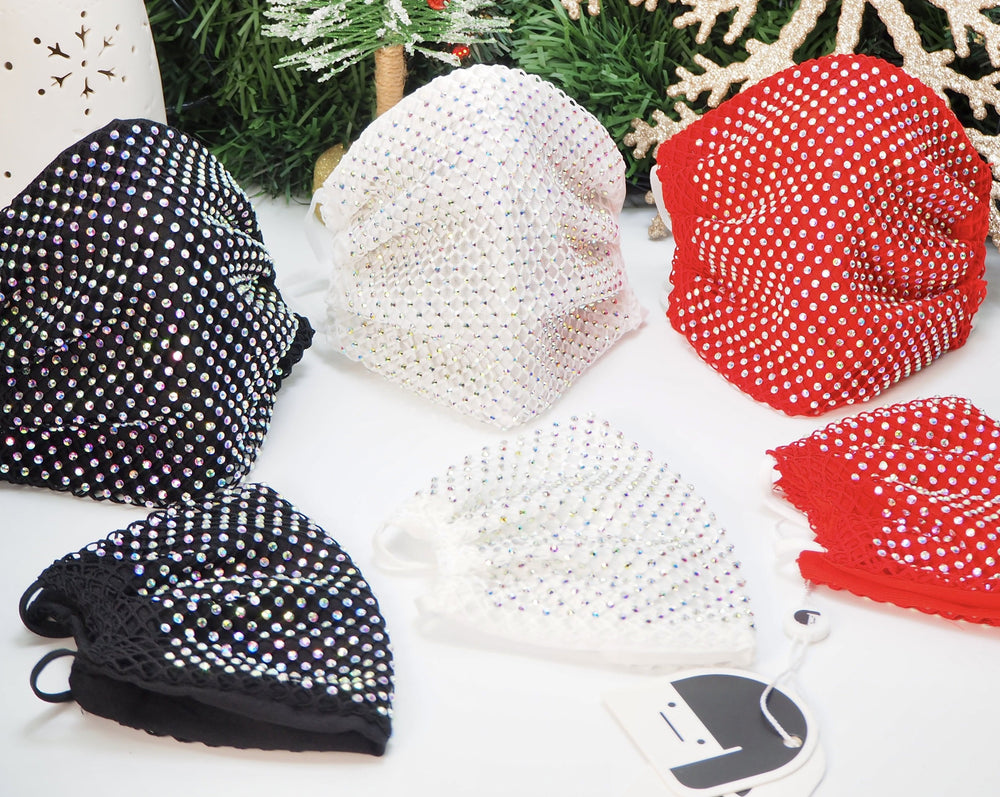 Sparkle Mask Coverings (Pack of 3)