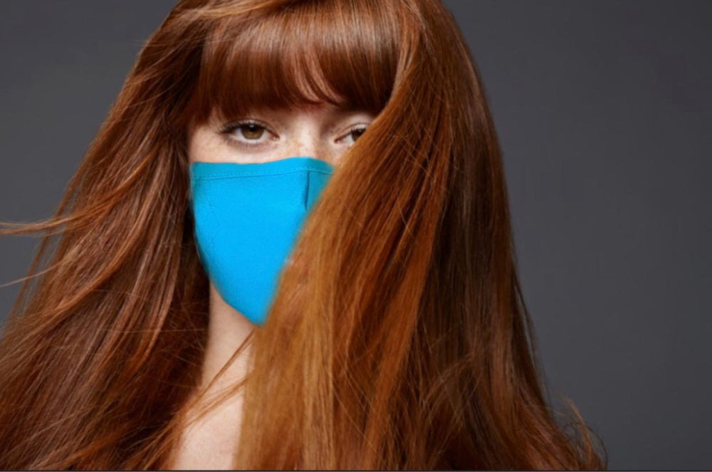 Cotton Face Covering (Teal)