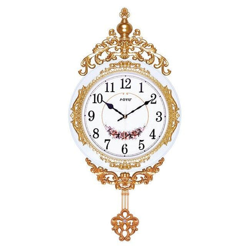 Horloge vintag design Blanche antique