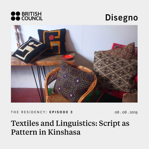 Textiles and Linguistics: Script as Pattern in Kinshasa