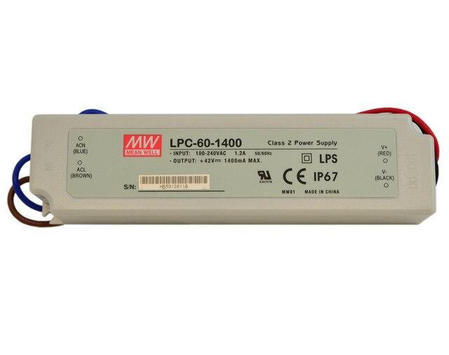 Mean Well LPC-60-1400 constant current driver
