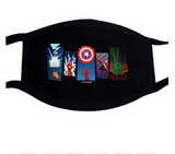 Marvel Cartoon Face Masks