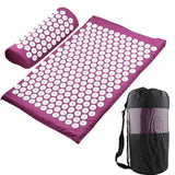 Yoga Mat with Cushion - Spikey Style