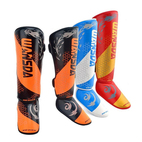 MMA Shin & Ankle Guards - Health Myself