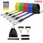 Weight Adjustable Latex Strap Resistance Bands - Health Myself