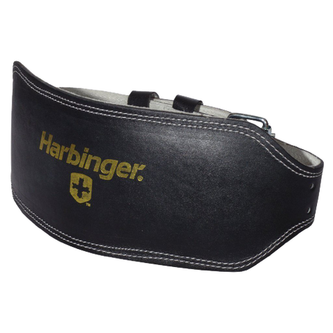 6-INCH PADDED LEATHER LIFTING BELT - Health Myself