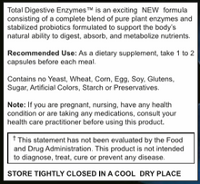 Load image into Gallery viewer, Total Digestive Enzymes