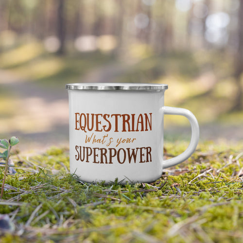 Equestrian What's Your Superpower? - Signature Enamel Mug
