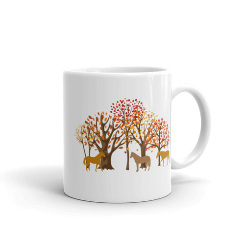 Fall Horses (Limited Edition) - Ceramic Mug