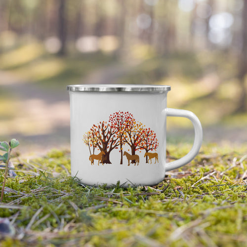 Fall Horses (Limited Edition) - Enamel Mug