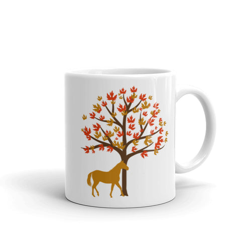 Fall Horse (Limited Edition) - Ceramic Mug