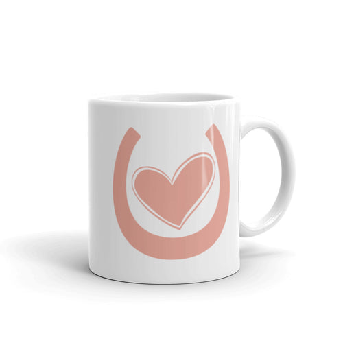 My Horse Has My Heart (Pink) - Ceramic Mug