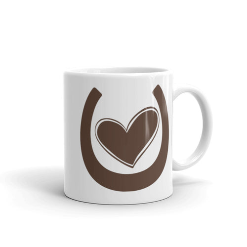 My Horse Has My Heart (Saddle Brown) - Ceramic Mug