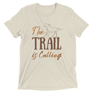 The Trail is Calling (Color Print) - Signature Tee