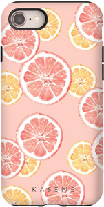 Kaseme Tough Kase Apple iPhone Xs Max / 11 Pro Max Limonade Rose - Kaseme - Étuis