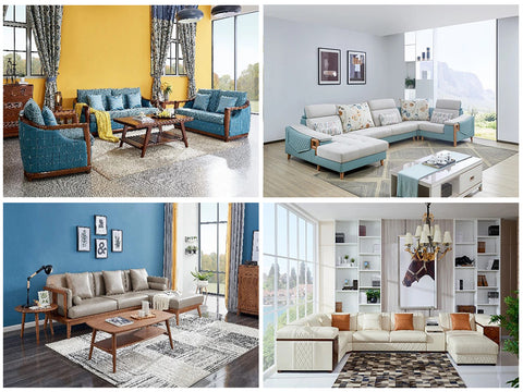 How colors and patterns of living room reflect your personality