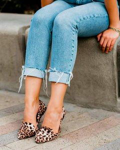 The Charlotte XL / Leopard Shoes