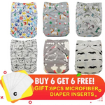 types of cloth diapers