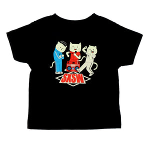 BEASTIE CATS YOUTH AND TODLER TEE