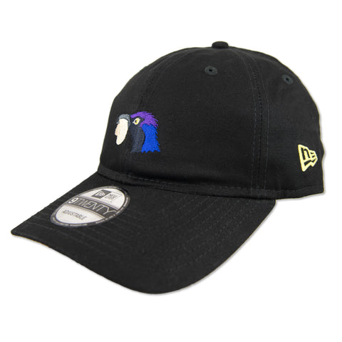 GRACKLE DAD HAT IN BLACK BY NEW ERA