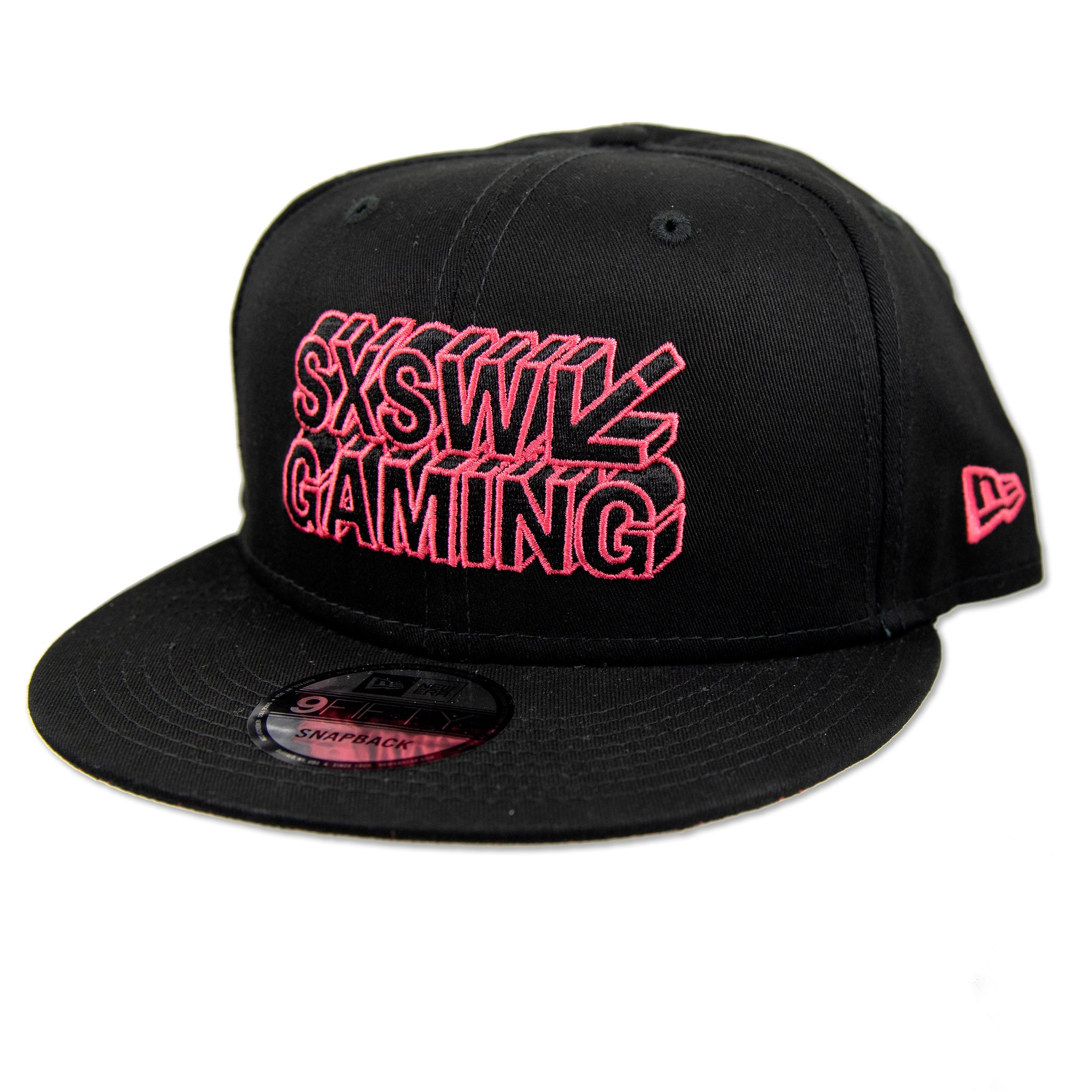 GAMING FLAT BILL IN BLACK BY NEW ERA