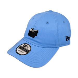 ARROW ICON DAD HAT IN LIGHT BLUE BY NEW ERA