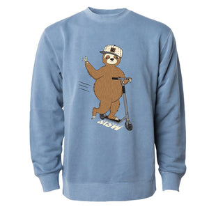 SCOOTER SLOTH PULLOVER
