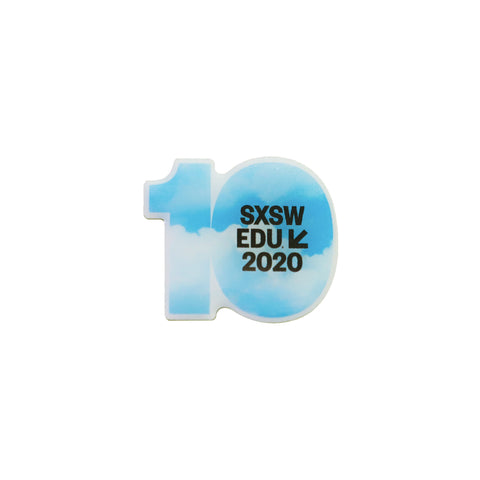 2020 EDU ENAMEL PIN