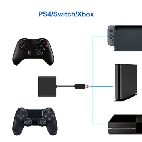USB-Adapter für Tastatur/Maus auf PlayStation 4, Xbox One, Switch