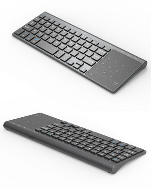 Mini-Keyboard (USB, 2,4 GHz Wireless)