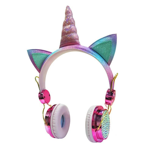 Diamanten-Einhorn-Headset