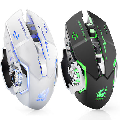 Freewolf X8 Wireless Optical Mouse, 2,4 GHz