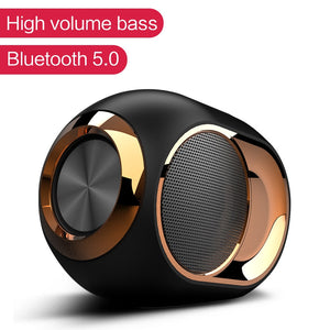 Waterproof X6 Bluetooth 5.0 Speaker Wireless Loudspeakers for Phone and PC