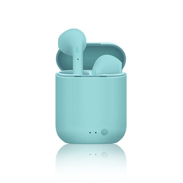 Mini-2 Wireless Bluetooth 5.0 Matte Macaron Ohrhörer mit Mikrofon und Ladebox